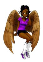 Maximum Ride- Nudge by darkshadowhand
