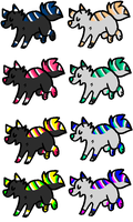 8 Invert Adopts ..::OPEN 8/8 ::.. by love-the-adopts