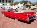red 1959 Cadillac tailfins by Partywave