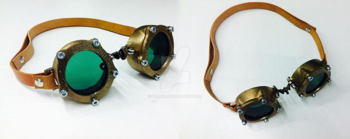 blowed up goggle by yzorg