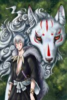 Gin - prince of mononoke by Vitcer