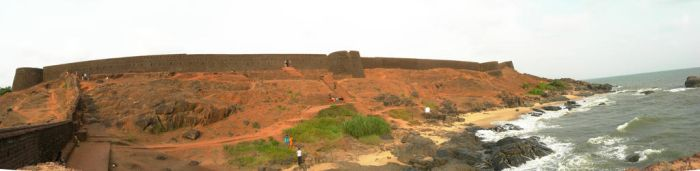 Bekal Fort Panorama by theinfinitedream