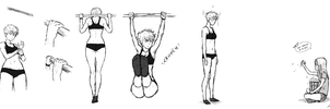 Some pull-ups by NoneKA