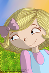 Violet from Word Girl/ Violeta de Chica SuperSabia by TeMcGinnis
