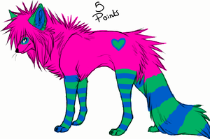 Wolf adoptable 9 -OPEN- by MooMoo-Adopts