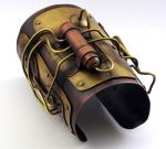 Steampunk cuff/bracer by Lostwaxoz