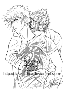 GrimmIchi: Cant let go of you by blackstorm