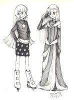 Milky Way, Casual and Fancy by rooks78