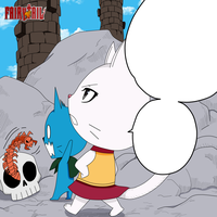 Fairy Tail 311 - Happy scared by Toroi-san