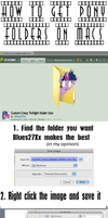 Get Pony folders for Mac: Tutorial by WillowTails