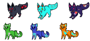 Name Your Price Cat Adoptables(OPEN) by Syito306