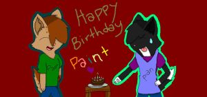 Paint's Birthday Suprise! 8D by PannyPan