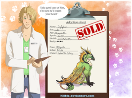 Lewis the vet: Sylphon -CLOSED- by Kiibie-Adopt