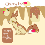 Cherry Tail Ref by TheDogThatPaints