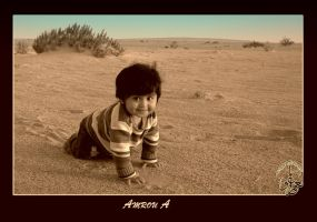 A Smile From The Desert by AMROU-A