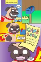 Awesome Pug Goes To Japan Page 1 Complete by LapisRabbitComics