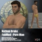 Nathan Drake FanMod Nude by Adngel