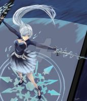 Weiss Schnee of Volume 4 by trufflemunchies13