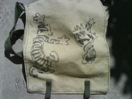 Calvin and Hobbes Bag by RedXI