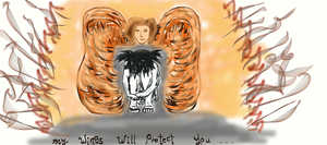 My Wings Will Protect You by Dani-the-Naiad