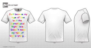 My tee shirt entry by WammyBoyLover121