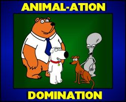 Animal-ation Domination by BrianGriffinFan