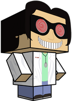 Doctor Insano Cubeecraft by Toon-Orochi