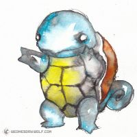 Squirtle by MoonMonstar