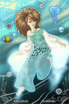 Elements Scen Maker: Water girl by sims123sims