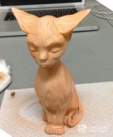 Sphynx Goddess WIP #3 by LimitlessEndeavours