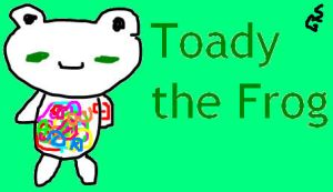 Toady the Frog by Teefyluff