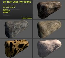 Free 3D textures pack 18 by Nobiax