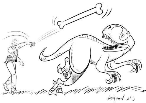 RAPTOR FETCH by Kaj-Man