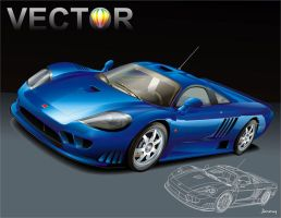 Saleen Blue by bandila