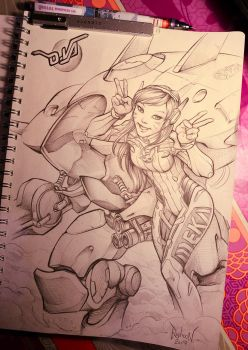 D-VA Sketch by RaphooN