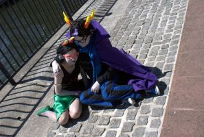 Eridan and Feferi by envoysoldier
