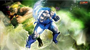 Street Fighter X Tekken: Military Spirit by KaboXx