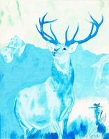 'Ciervo Azul' ('Blue Deer') by Fabio-P