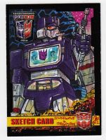 Transformers BotCon SoundWave Commission Card by fbwash