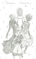 KH3DS :: Trapped Hearts by FermonsNosYeux