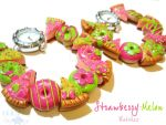 Strawberry Melon Watches by colourful-blossom