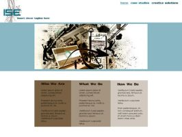 ISE Site Design by onesweetpoison