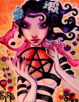 Ace of Pentacles by wescoatart