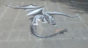 Toothless is on my Driveway! by Lissa-Molloy