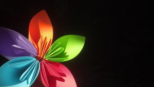 Paper Flower by luv-maiki