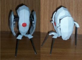 Portal Turret Assembled by CaptainRedEye