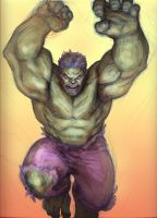 Hulk colour vers by KJVallentin