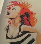 Hayley Williams coloured sketch  by HayleyAmymusic