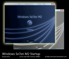 Windows Se7en M2 Startup by yanomami