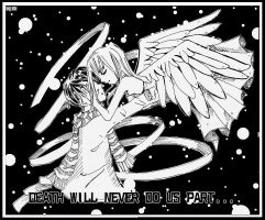 Death will Never due us Part: by jujubes